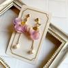 【グッズ】紫陽花の花びらゆれるイヤリング