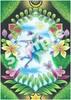 【ハイファンタジー】チョークアートコラボ ポストカード1 『forest』
