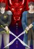 剣士と赤竜