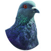 【グッズ】【ノンフィクション】鳩のアクリルキーホルダーB