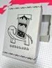 【グッズ】ゾウさんの名刺ケース(活版印刷の箱)